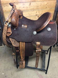 "Leanin' Pole 13.5"" Barrel Saddle"