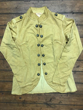 Load image into Gallery viewer, Military Style Fashion Coat - Gold