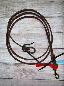 "Dutton Roping Reins - 5/8"" (Tie Ends)"