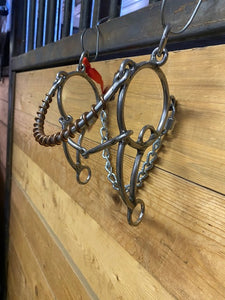 L&W Combination Steel Nose #329 Smooth Snaffle Bit