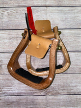"Load image into Gallery viewer, Nettles Stirrups ""The Barrel Racer"" - Petite 2"""