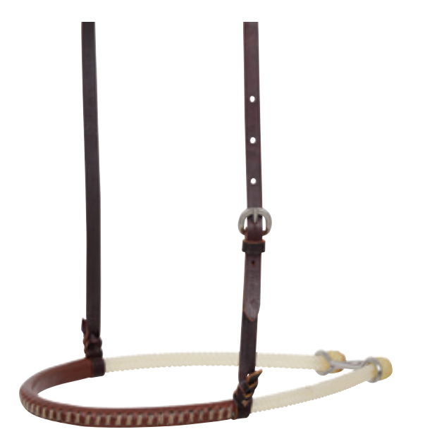 Martin Double Rope with Leather Cover Noseband