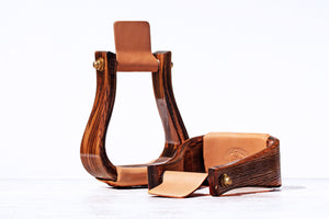 "Nettles Stirrups ""The Flatbottom"" - Regular 3"""