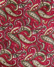 Load image into Gallery viewer, Wyoming Traders Paisley Jacquard Silk Wild Rag