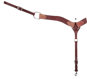 "Cashel 2"" Chocolate Smoothout Breastcollar"