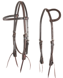 Martin Chocolate Roughout Headstall