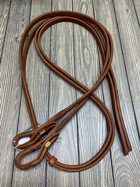 Berlin Leather Split Reins with Quick Change Ends