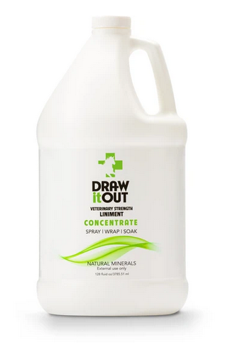 Draw It Out Horse Liniment 128oz Concentrate