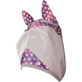 Crusader Patterned Fly Mask - With Ears