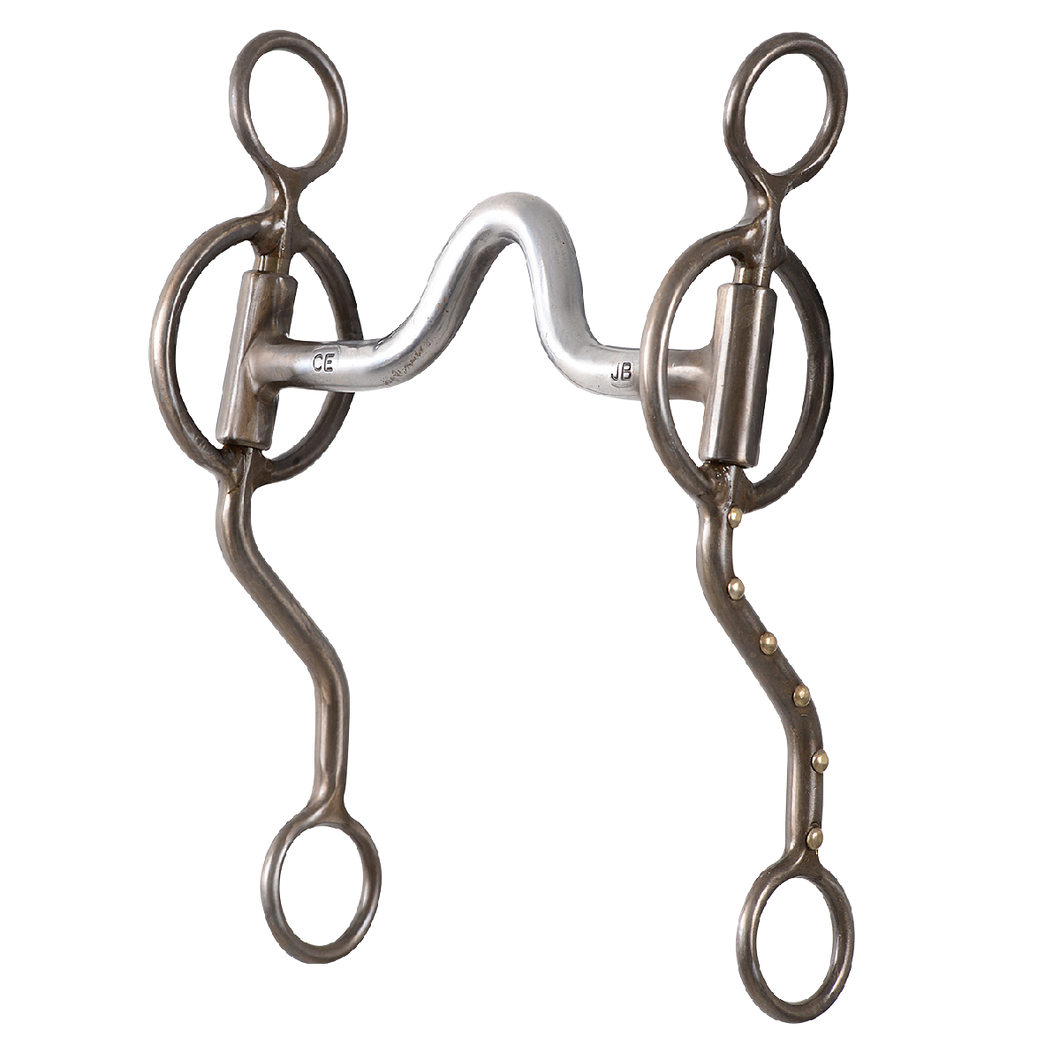 Offers more control on a horse that drops in the front and helps the roper keep their horse's weight shifted to their hind end. Offers more control on horses with a hard mouth. Increased get back action on horses that don't want to get back or yield to the jerk line on their own.