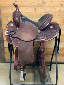"Leanin' Pole 13.5"" Barrel Saddle #T4929485"