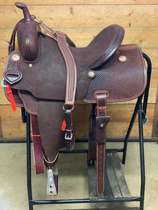 "Leanin' Pole 15"" Barrel Saddle #T55220248"