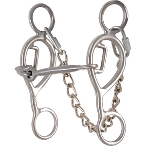 "Shank Level 1: 5-1/2"". Mouthpiece Level 1: Snaffle. Gag Length: 7/8"". Snaffle mouthpiece combined with easy leverage and limited gag encourages lateral fl exion and suppleness. Great for fundamental training in younger horses."