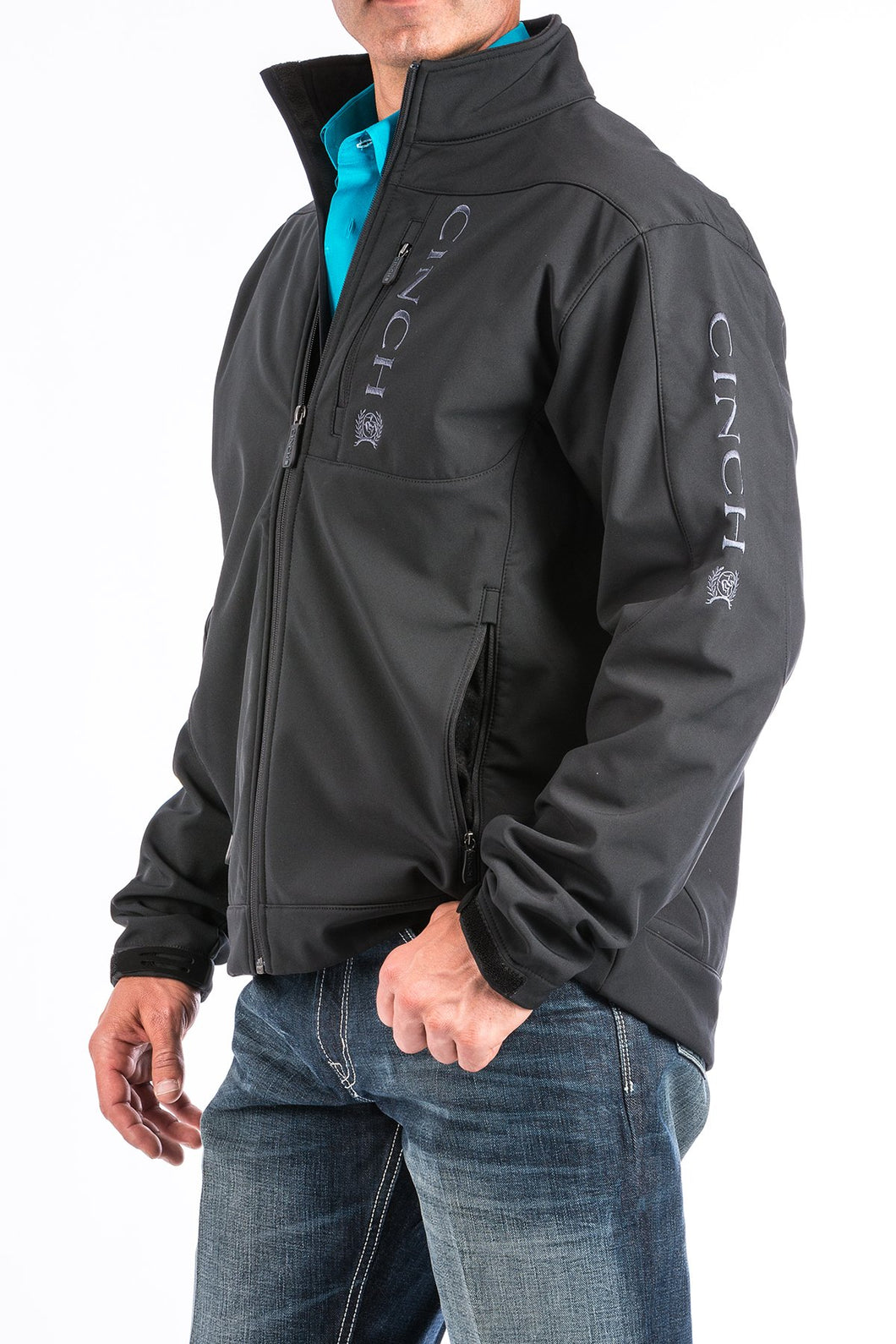 Men's Cinch Black Bonded Jacket