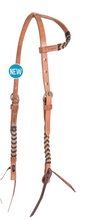 Load image into Gallery viewer, Martin Laced Harness One Ear Headstall