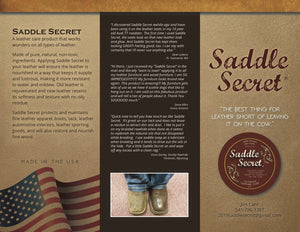 Saddle Secret