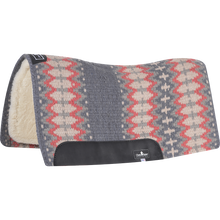Load image into Gallery viewer, Classic Equine Contoured Wool Top Sensorflex Saddle Pad