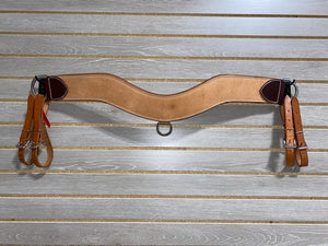 "Leanin' Pole 3"" Trippin' Collar - Natural Roughout"
