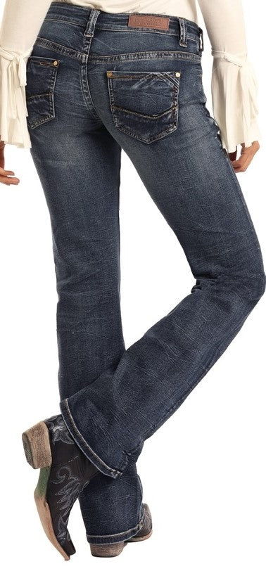 R&R Cowgirl. Riding Bootcut Jeans