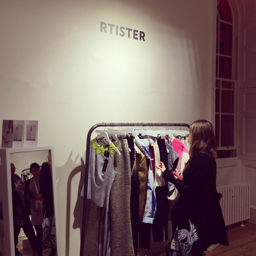 Spring Summer '14 trends including florals, pastels and metallics were favourites at the Rtister room