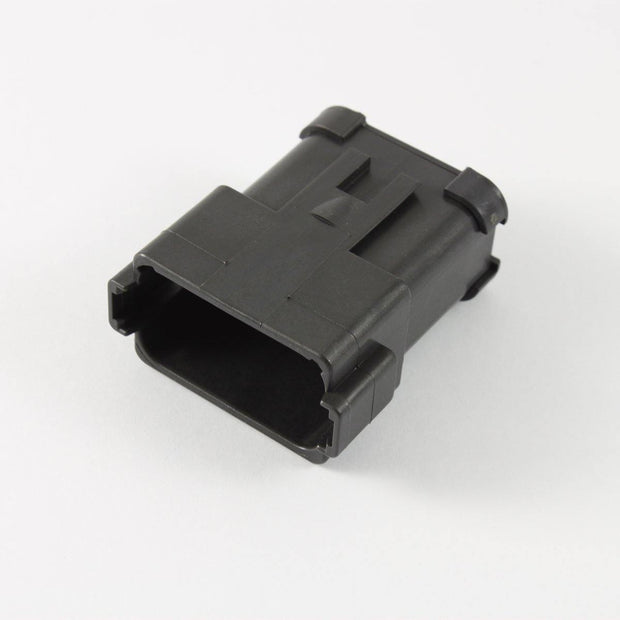 Deutsch DT CBL Receptacle 12 Way Pin-Contacts BLK IP68 13A CAT-Spec