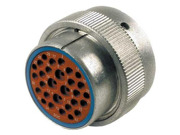 Deutsch HD30 CBL Plug 29 Way Socket-Contacts Metal IP67 25, 13, 7.5A ET-Seals