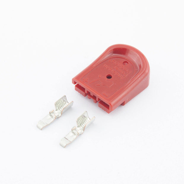 Anderson SBS Mini Plug Kit 2 Way RED 45A 10AWG Contacts