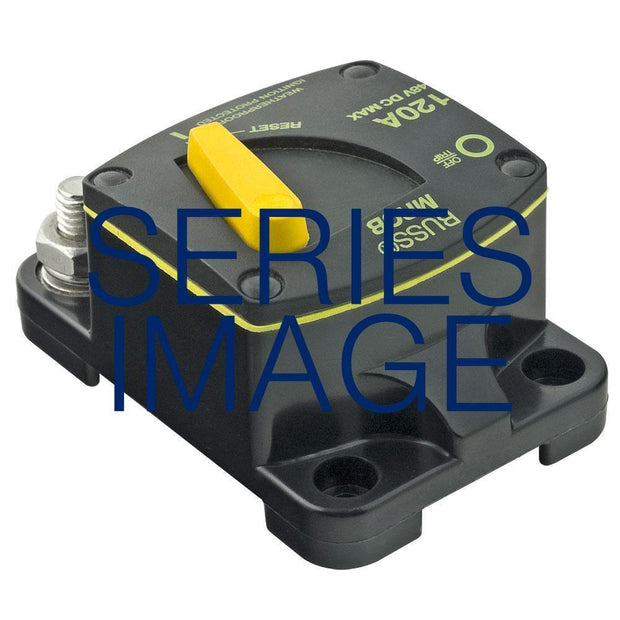 Bussmann 187 Surface Mount HD Marine Circuit Breaker 12-48V IP66 80A