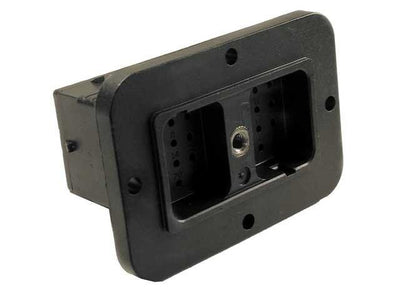 Deutsch DRC Panel Receptacle 24 Way Pin-Contacts BLK IP68 13A A-Key