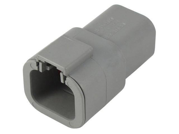 Deutsch DTP CBL Receptacle 4 Way Pin-Contacts GRY IP68 25A C015