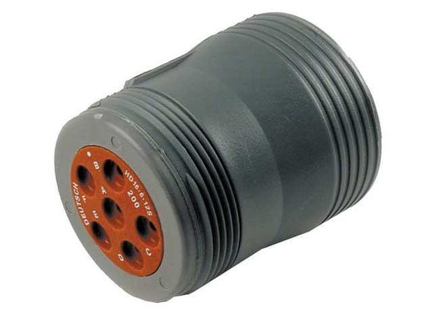 Deutsch HD16 CBL Plug 6 Way Socket-Contacts GRY IP68 25A
