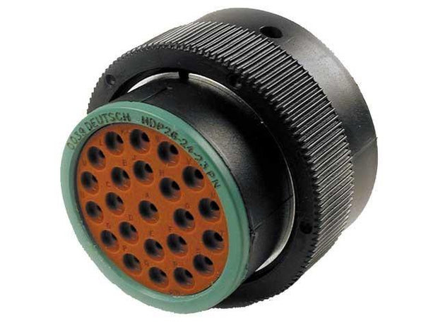 Deutsch HDP20 CBL Plug 23 Way Pin-Contacts BLK IP67 13A