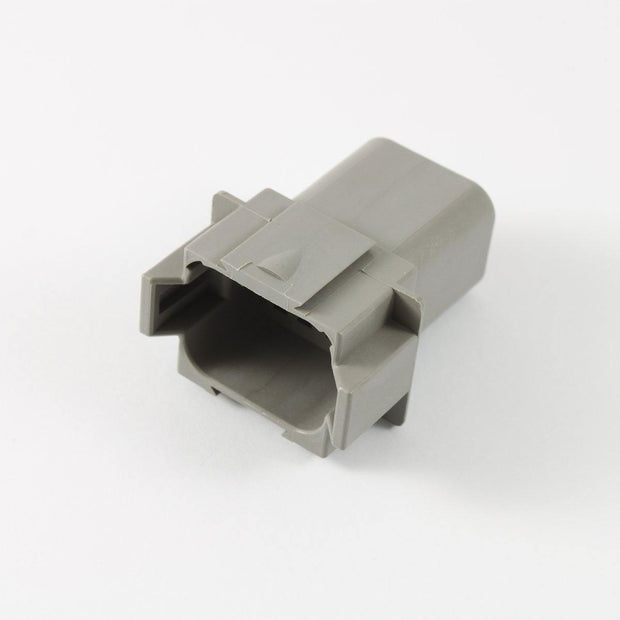 Deutsch DT CBL Receptacle 8 Way Pin-Contacts GRY IP68 13A