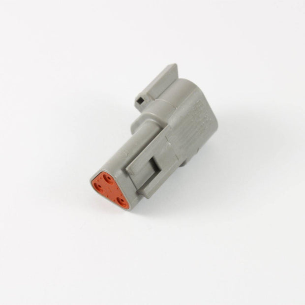 Deutsch DT CBL Receptacle 3 Way Pin-Contacts GRY IP68 13A