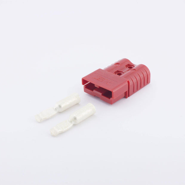 Anderson SB120 Plug Kit 2 Way RED 120 Amp 6AWG Contacts