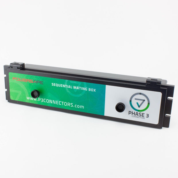 Phase 3 Powersafe Box Source 800A 5 Port 108mm Lidded IP67