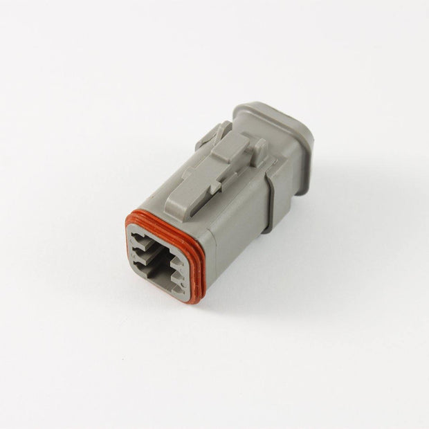 Deutsch DT CBL Heatshrink Plug 6 Way Socket-Contacts GRY IP68 13A