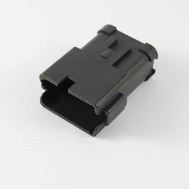 Deutsch DT CBL Receptacle 12 Way Pin-Contacts BLK IP68 13A B-Key Bussed 1x12