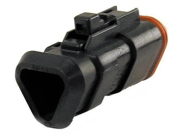 Deutsch DT CBL Heatshrink Plug 3 Way Socket Contacts BLK IP68 13A CAT-Spec