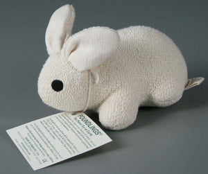 Organic Cotton Stuffed Bunny