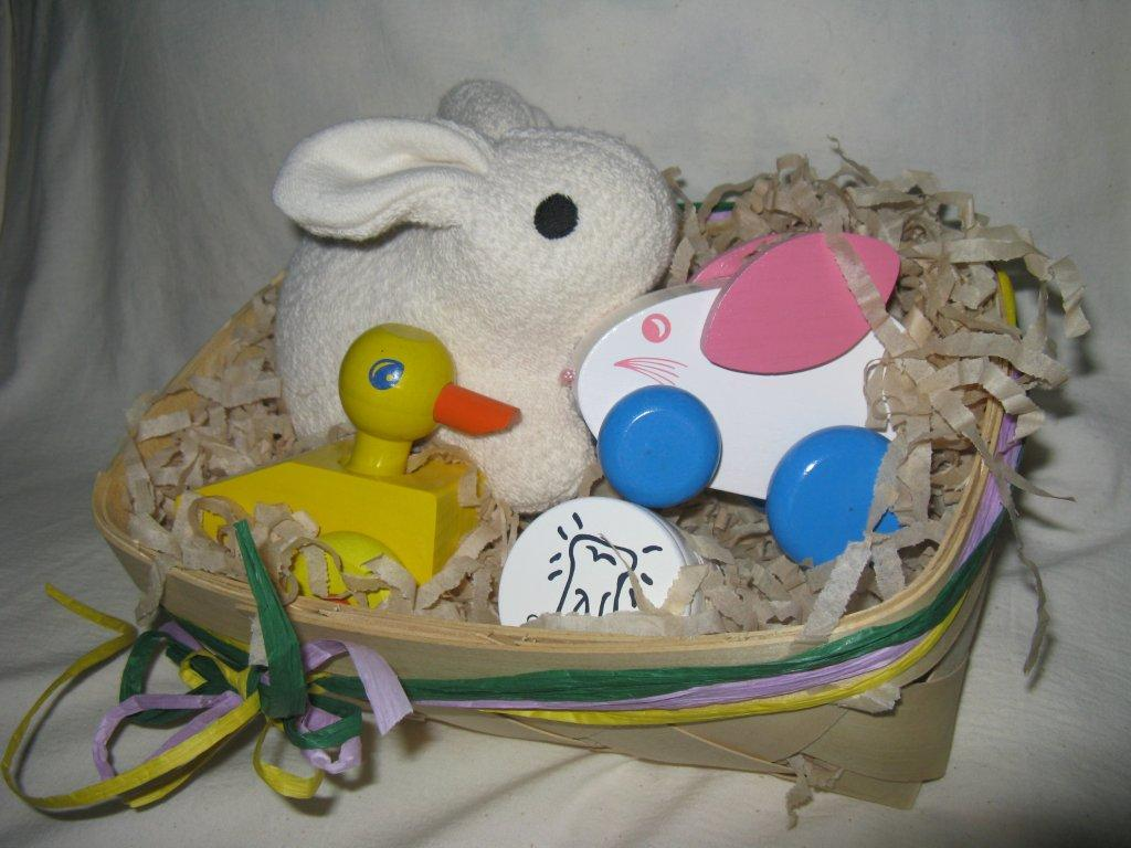 Natural Organic Easter Gift Basket - Children