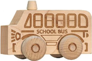 Maple Landmark Natural School Bus Scoot