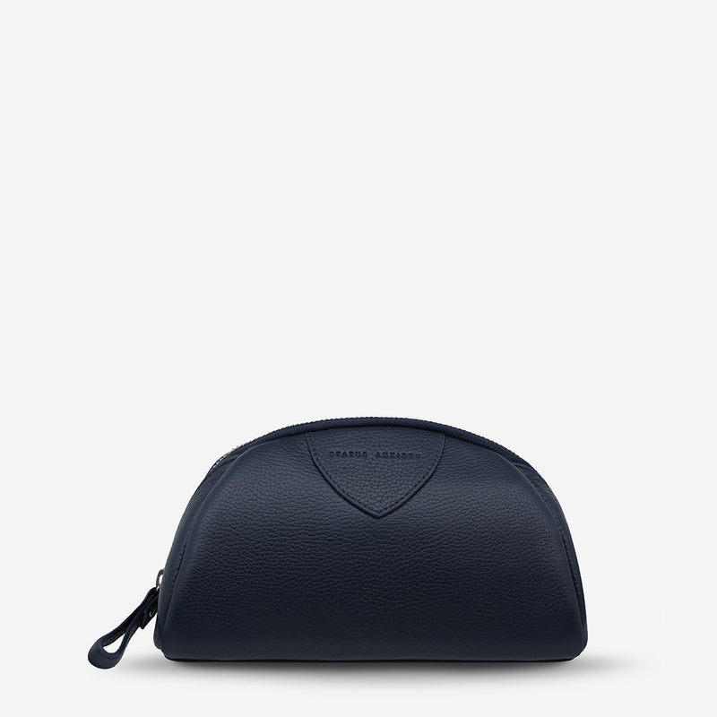 Cosmetic Bag Adrift Navy Blue