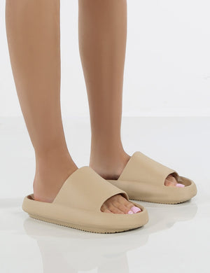 Solar Nude Rubber Flat Sliders
