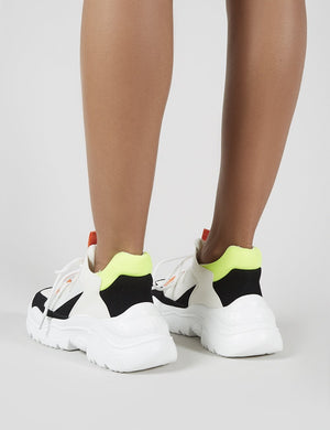 Harley Chunky Trainers in Colourblock