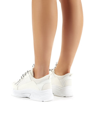 Fiyah Chunky Trainer White
