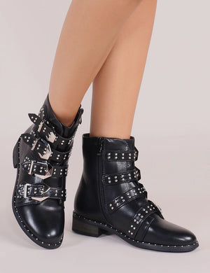 Paradox Ankle Boots in Black