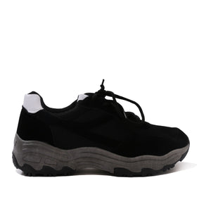 Angst Chunky Trainers in Black