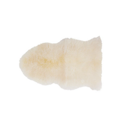 Sheepskin Rug - Natural - The Slipper Box