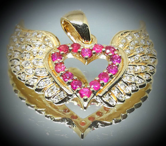 Heart and Wings Jewelry